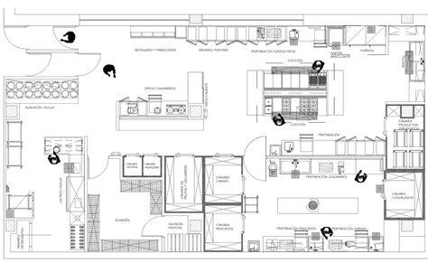 juegos de cocina para restaurantes plano cocina restaurante dise 241 os arquitect 243 nicos