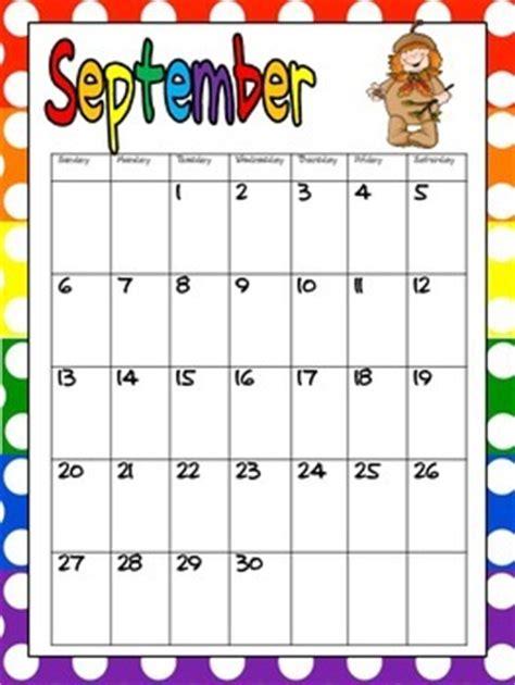 Free Teacher Calendar free printable calendar for binder by