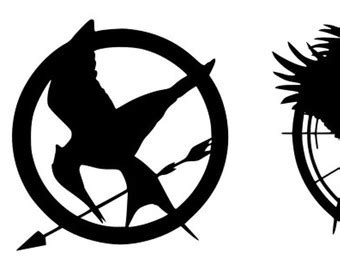 hunger games mockingjay clipart 37