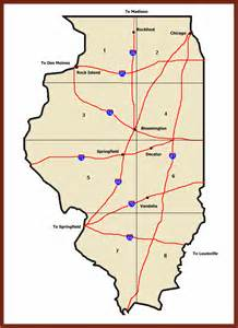 ghost towns map ghost towns of illinois