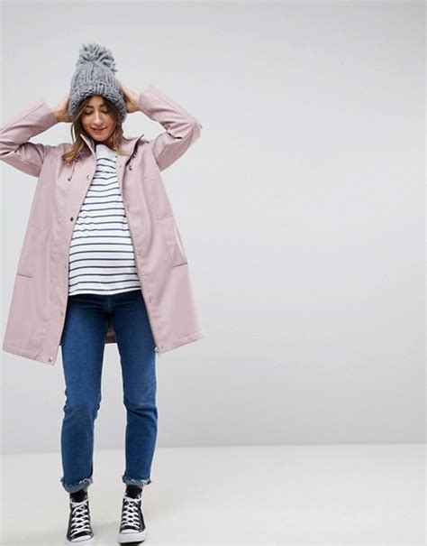 Maternity Fleece Lined asos maternity asos maternity fleece lined raincoat