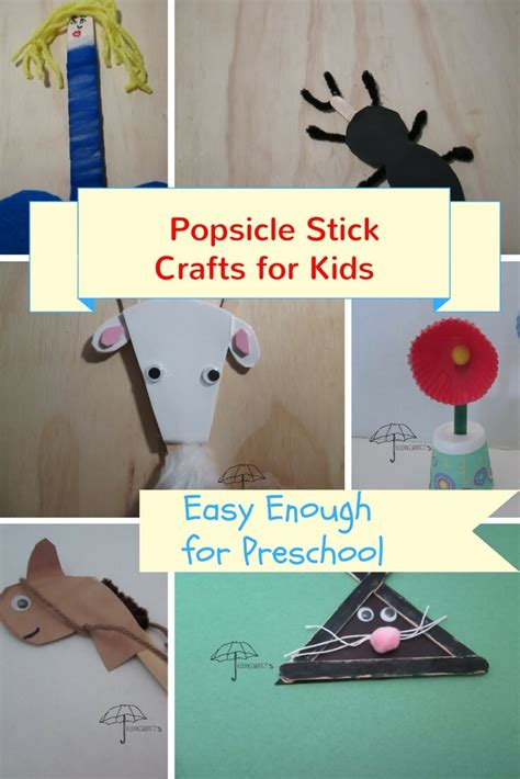 craft stick projects for preschoolers popsicle stick crafts for easy and
