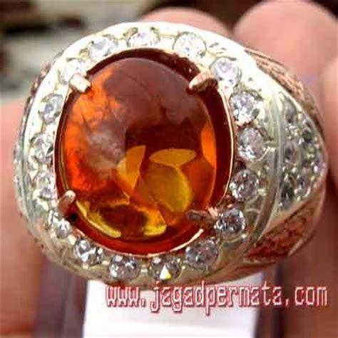 Batu Akik Permata Orange Opal opal batu akik