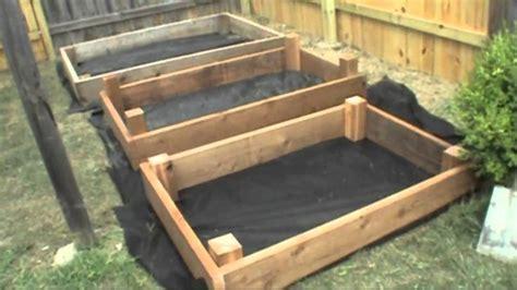 build raised bed box   garden urban farm