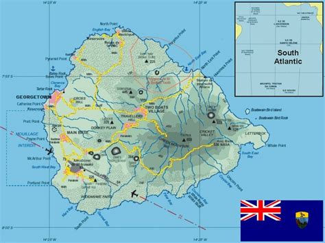 ascension island map ascension island airport images