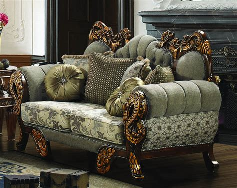 ornate couch loveseat with ornate design victorian sofas new york