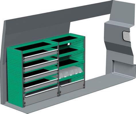 ford transit pro racking and shelving unit