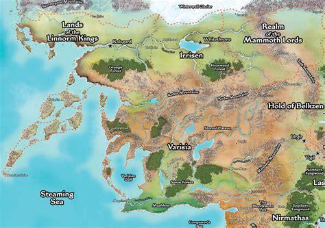 pathfinder golarion map large area maps abqgurps wiki