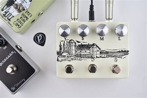farm pedals farmhouse compressor overdrive pedal of the day