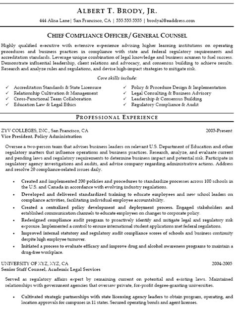 officer resume exles cv template compliance gallery certificate design and