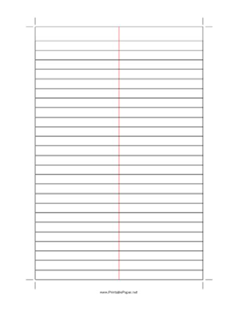 free printable lined paper with columns 6 best images of printable lined paper with 2 columns