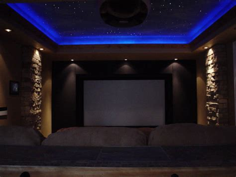 Home Theater Ceiling Lighting Ceilings Eclectic Denver By Brian Richards