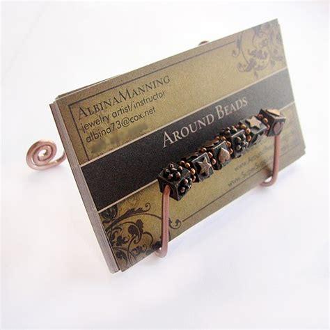 Artistic Business Card Holder