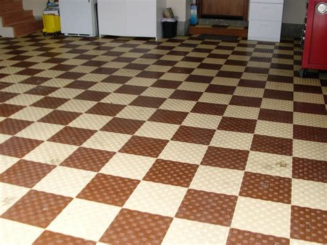 chocolate brown floor l interlocking tiles for garage floor meze blog