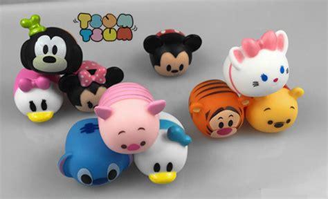 Boneka Dasboard Stitch 10pcs lot tsum tsum mini winnie mickey mouse stitch