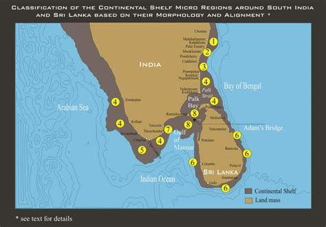 Continental Shelf Of India by Tsunami South India