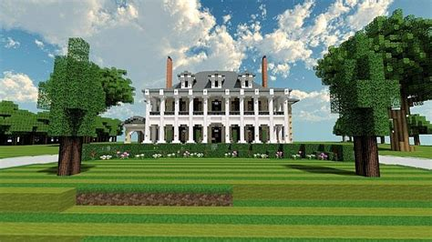 Home Plans With Master On Main Floor by Plantation Mansion 2 Comeback Post Minecraft Project