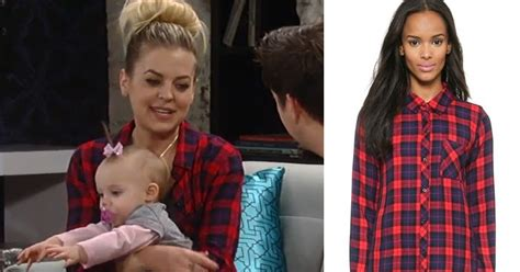 gh maxies hair feb 13th 2015 i m a soap fan maxie jones s red and blue plaid shirt