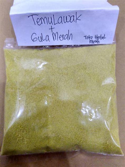 Herbal Temulawak Serbuk 240 Gram jual temulawak serbuk obat hepatitis asma kanker