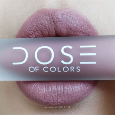 dose of colors liquid matte lipstick review and swatches xueqi s episode