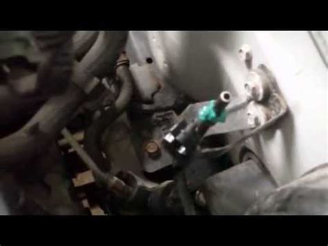 how to nissan sentra 1.8l fuel pressure youtube