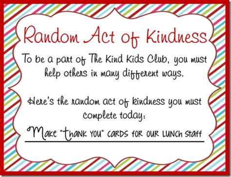 appreciation letter kindness random act of kindness thank you notes for the lunch