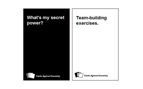custom card template 187 cards against humanity template