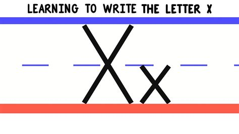 5 How To Write write the letter x abc writing for alphabet