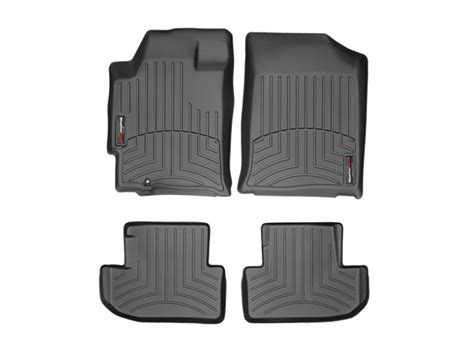 weathertech 174 floor mats floorliner for nissan altima coupe 2007 2013 black ebay