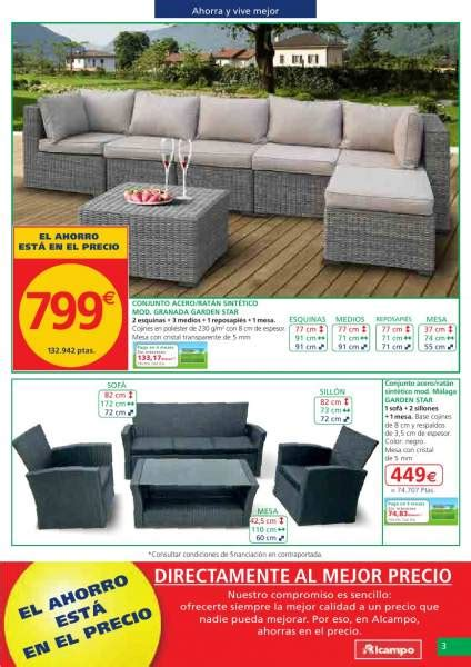 muebles jardin makro decorablog revista de decoraci 243 n