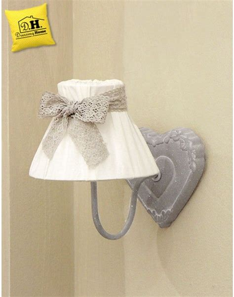 applique country chic applique shabby chic cuore fiocco home