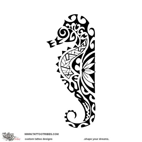 tattoo of kiore moana seahorse tattoo custom tattoo