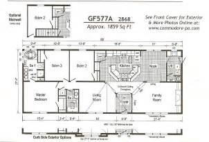 4 bedroom wide double wide mobile home floor plans www imgkid com the