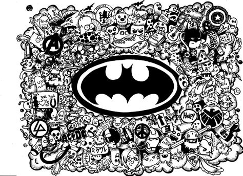 doodle a logo where s batman doodle by willnava on deviantart