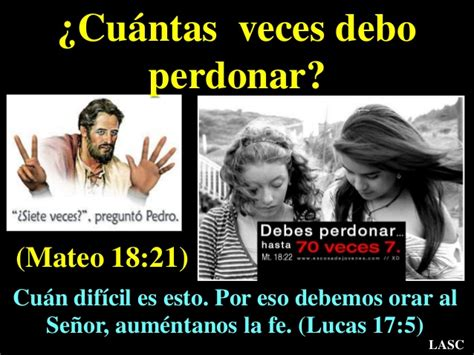 191 cuantas veces hay que perdonar conf el perdon es posible perdonar para ser libre