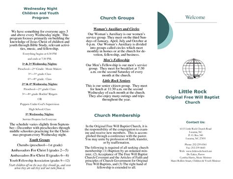 church program template church program template 28 images 11 free printable