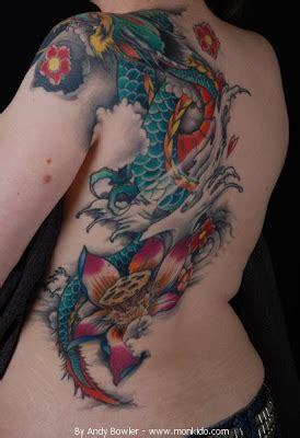 tattoo dragon with flowers monki do tattoo studio july 2012