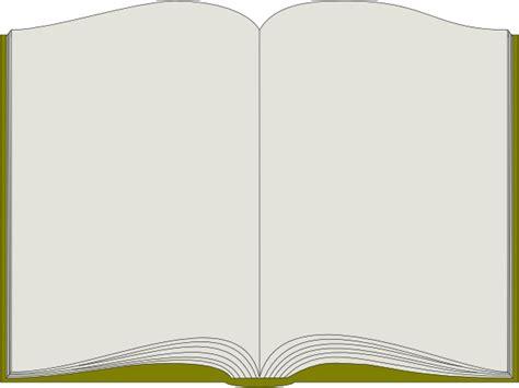 open book template open book clip at clker vector clip