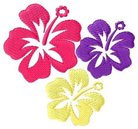 embroidery design in flower hawaiian flowers embroidery design annthegran