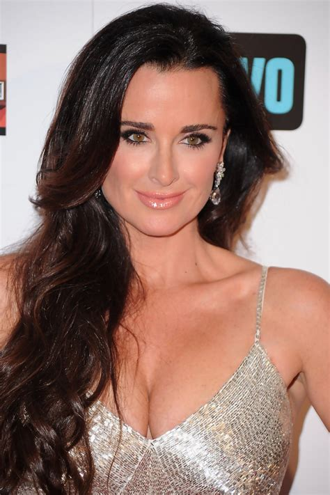 hair style from housewives beverly hills kyle richards photos photos premiere of bravo s quot the