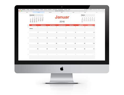 Kã Ndigen Vorlage Numbers Vorlage Kalender 2016 Numbersvorlagen De
