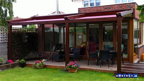 awnings ie awnings canopies and blinds ireland commercial and residential
