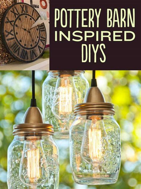 pottery barn inspired decor 15 ingenious pottery barn inspired diy project ideas