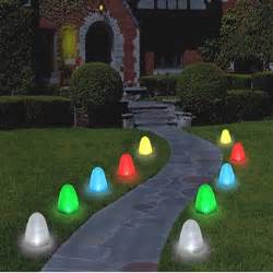 gumdrop christmas pathway lights 10 led 8 quot lights
