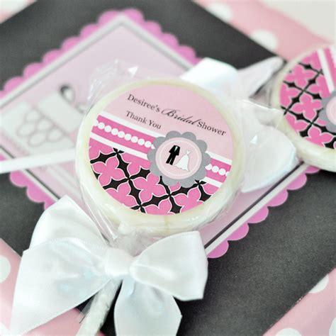 Cheap Wedding Shower Favors by Personalized Lollipop Favors Wedding Shower