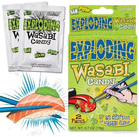 exploding wasabi like pop rocks firehouse pantry