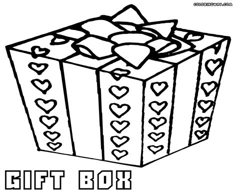 Gift Coloring Pages Coloring Pages To Download And Print Gifts Coloring Pages