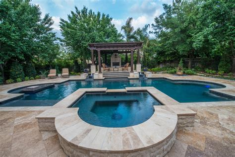 designer pools luxury custom pools photo gallery the woodlands spring