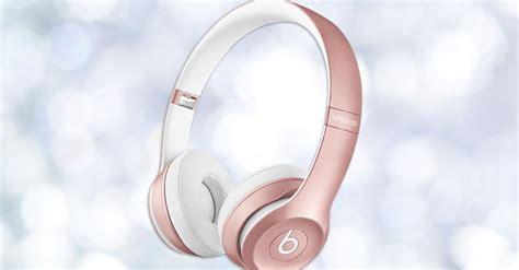 beats headphones    rose gold