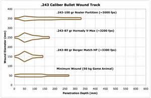 243 Barnes Tsx 270 Vs 243 Ballistics Chart